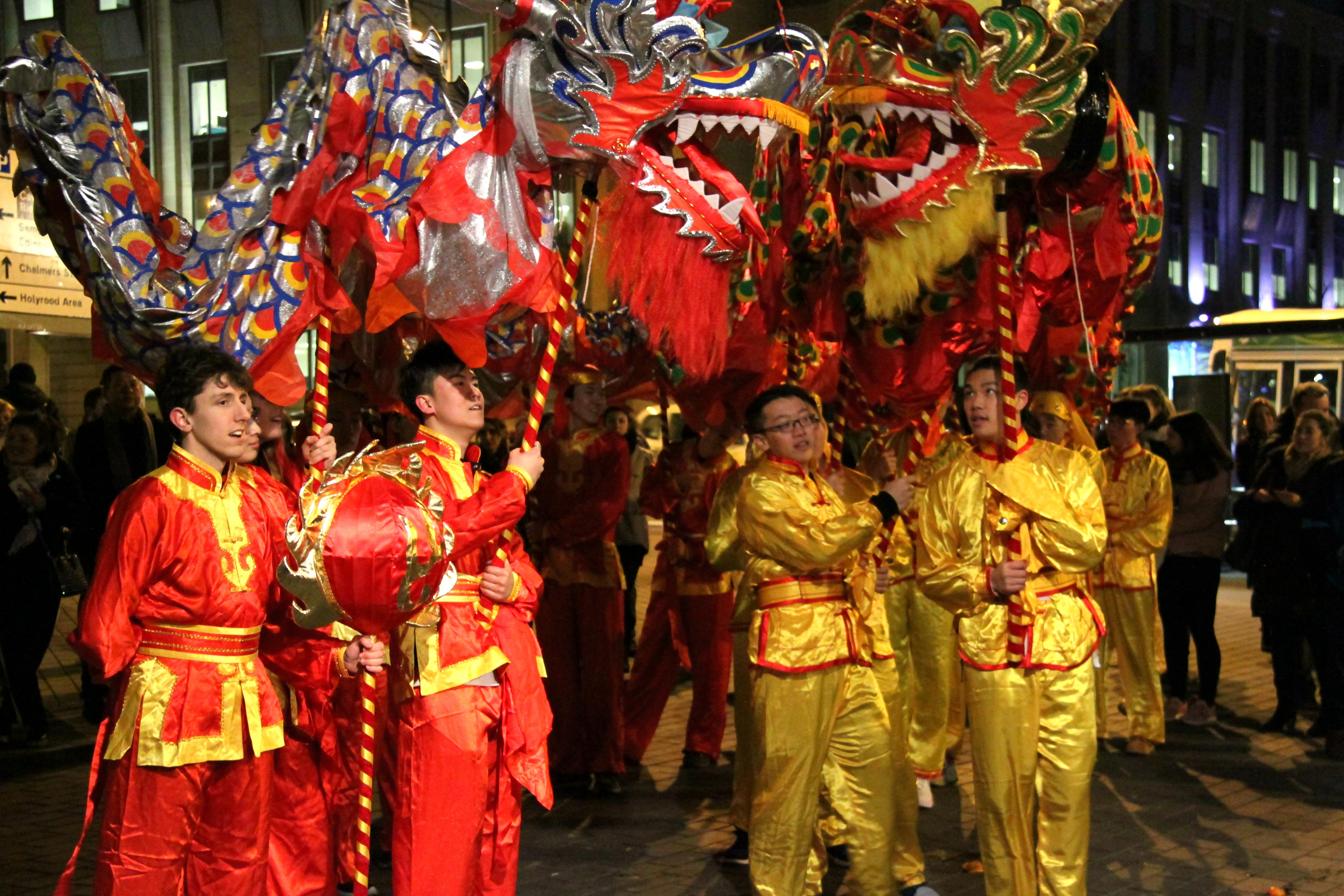 2018 chinese new year reception and concert held in edinburgh malvernweather Image collections