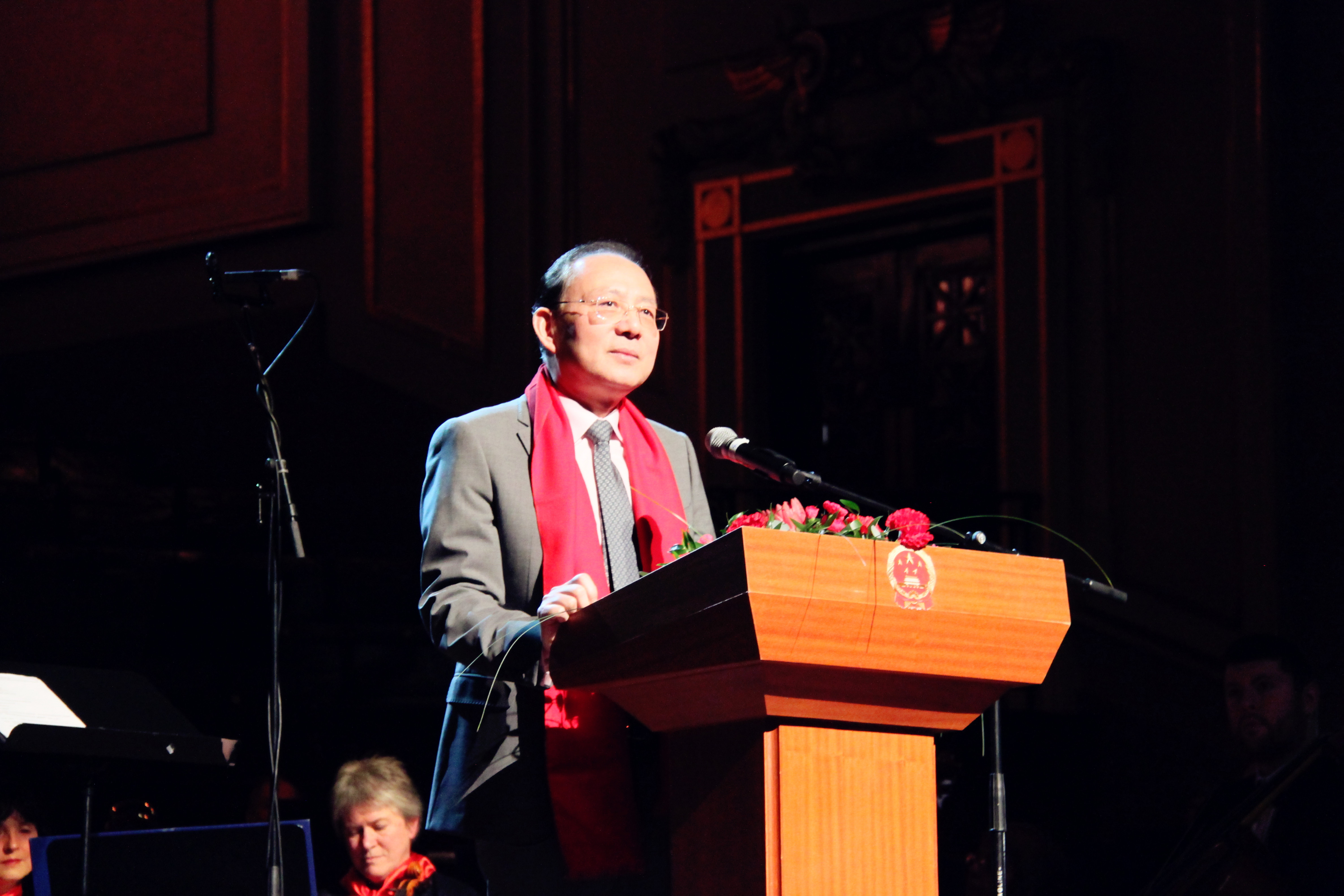 2018 chinese new year reception and concert held in edinburgh he said since the giant lantern of china show at the edinburgh zoo kicked off chinese new year malvernweather Image collections