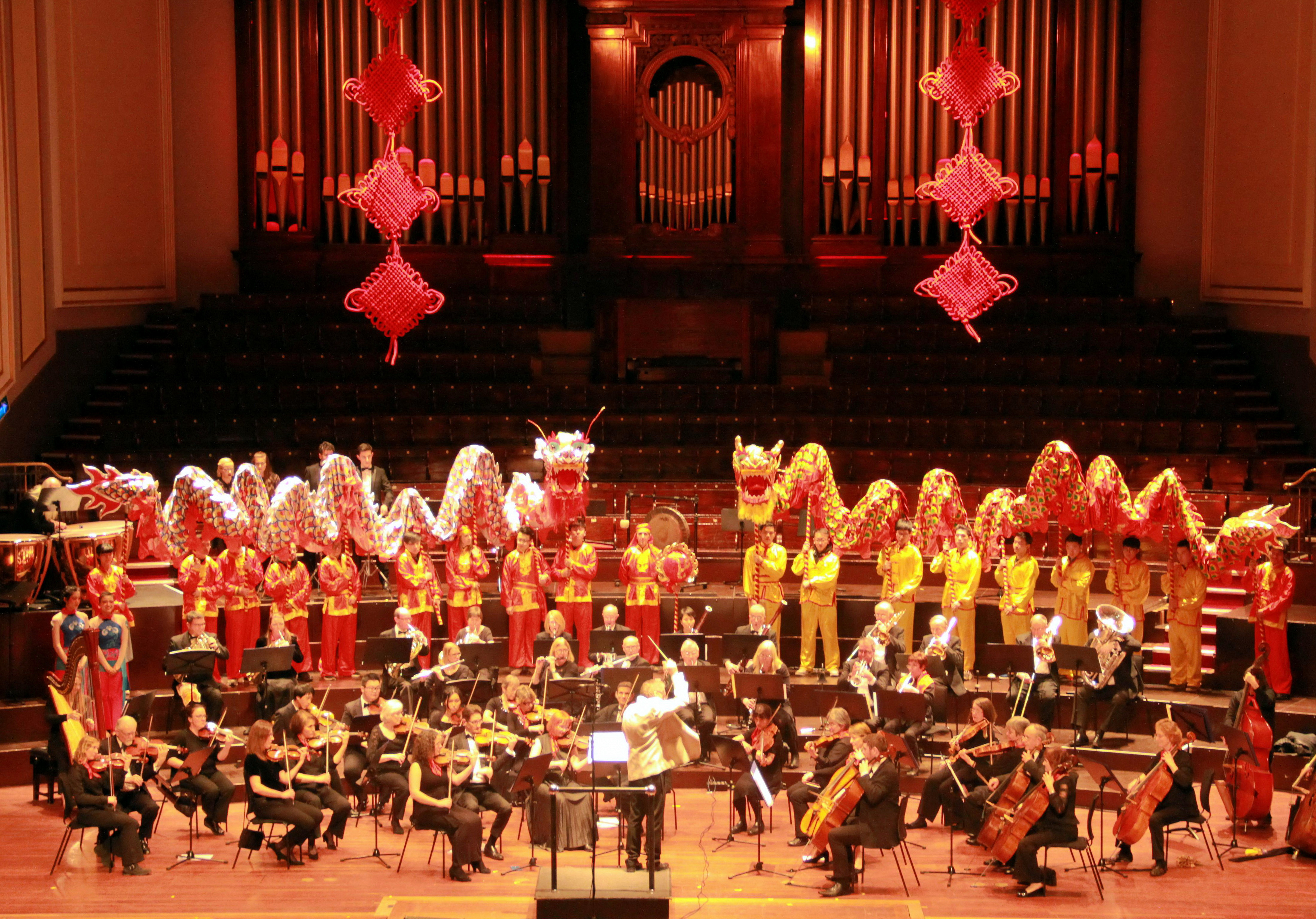 2018 chinese new year reception and concert held in edinburgh and scottish pipe band performance as well as brilliant concert given by chinese artists and edinburgh symphony orchestra sending best wishes to both malvernweather Image collections